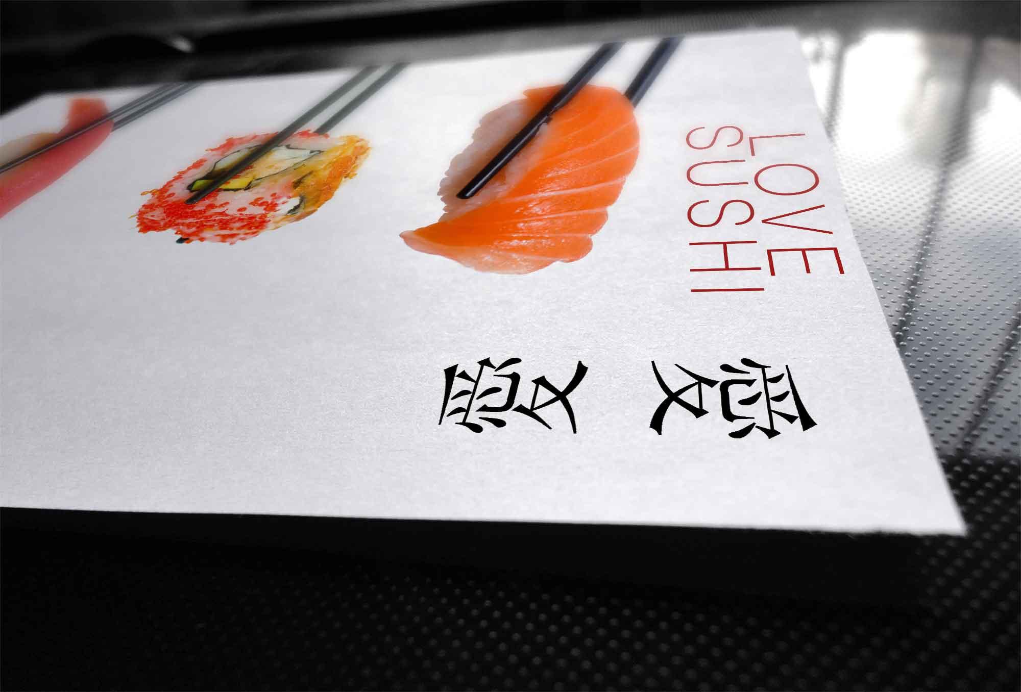 grafica volantini per ristoranti