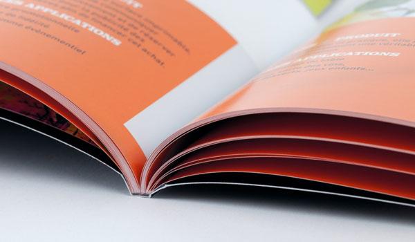 stampa brochure rilegatura fresata