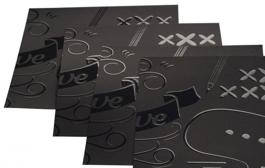 finitura senza stampa 3d e plastificazione soft touch