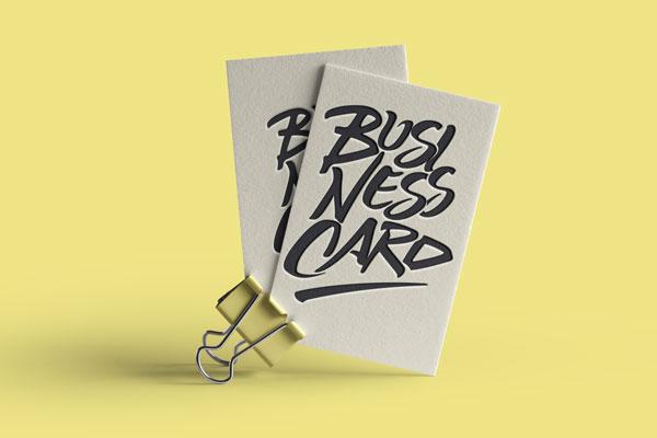 stampa tipografica biglietti da visita